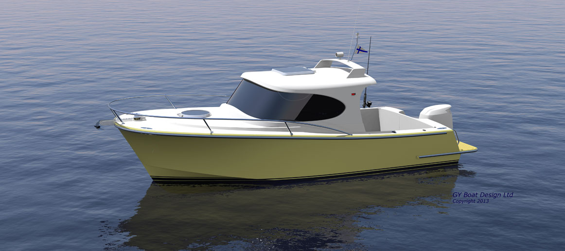 Boat Plans Cabin Cruiser